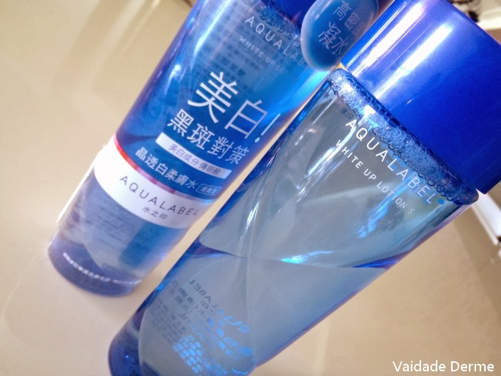 Aqualabel White UP Lotion S da Shiseido