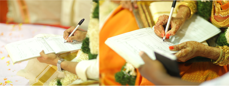 Marriage registration Compulsory among Hindu and Muslim Law