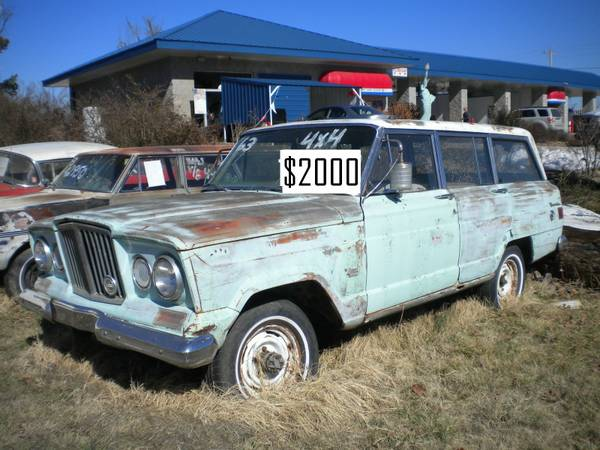 Restoration Project Cars 1963 Willys Jeep Wagoneer Project