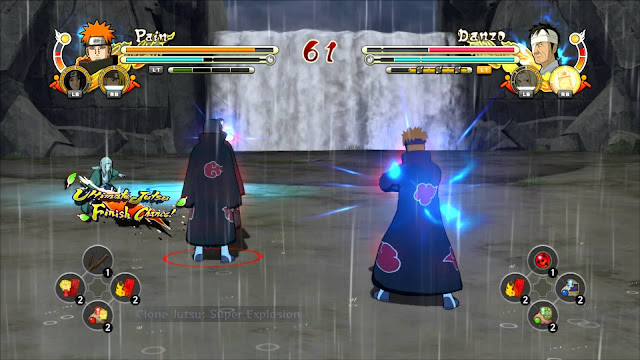 Naruto Shippuden Ultimate Ninja Storm 3 Full Burst PC Captura 1