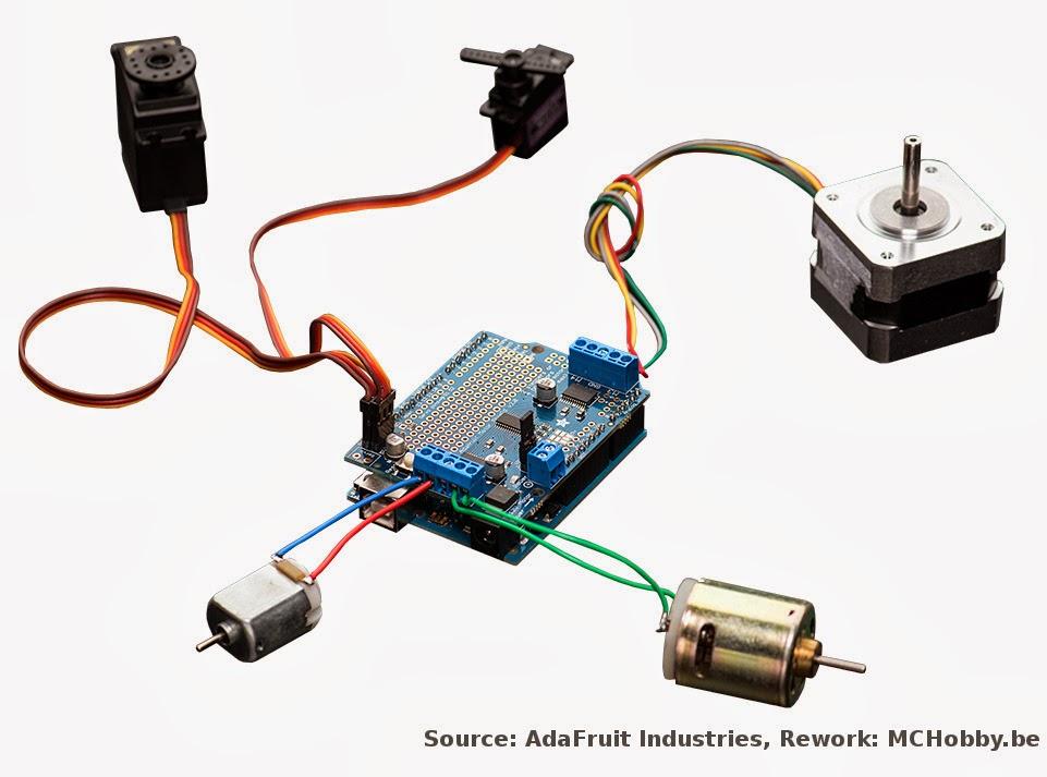 Motor Shield V2 Une Petite Revolution Technique Pour Vos Arduino Mchobby Le Blog