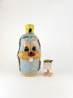 Malarko Hernandez Naive Ceramics Bunny