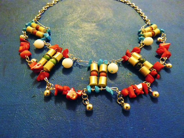 Circul Magic colier etnic : Culorile vietii