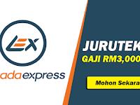 Jawatan Kosong di Lazada Express Malaysia Sdn Bhd - Juruteknik / Gaji RM3,000.00++
