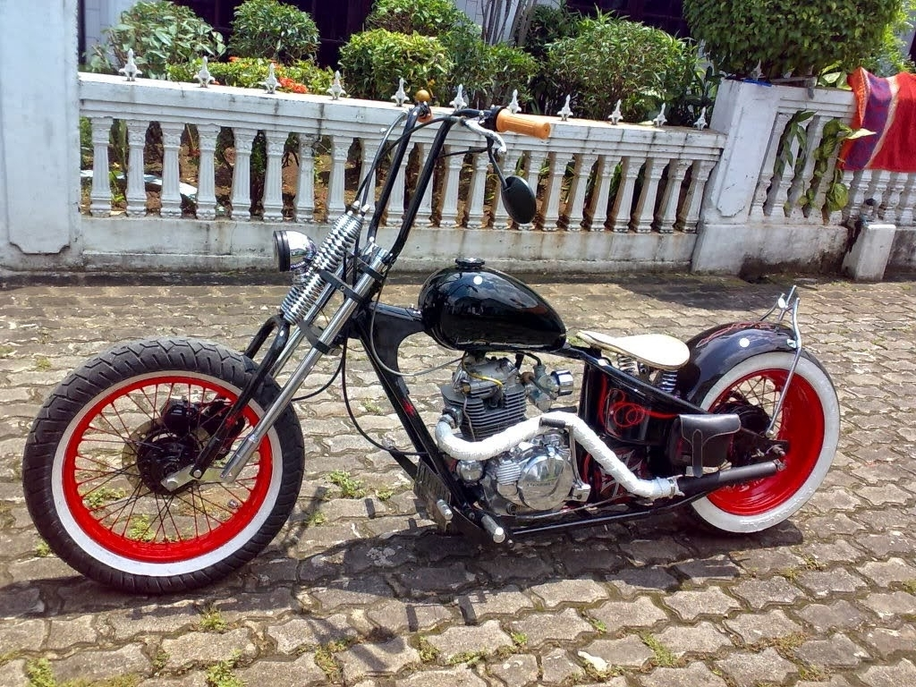 89 Modifikasi Jadi Motor Antik Terbaik Kempoul Motor