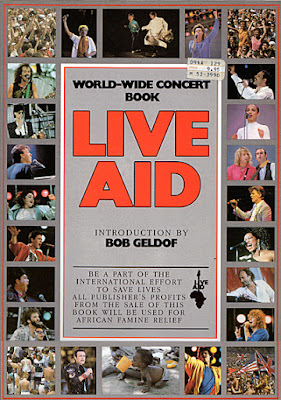 Live Aid Booklet July 13,1985