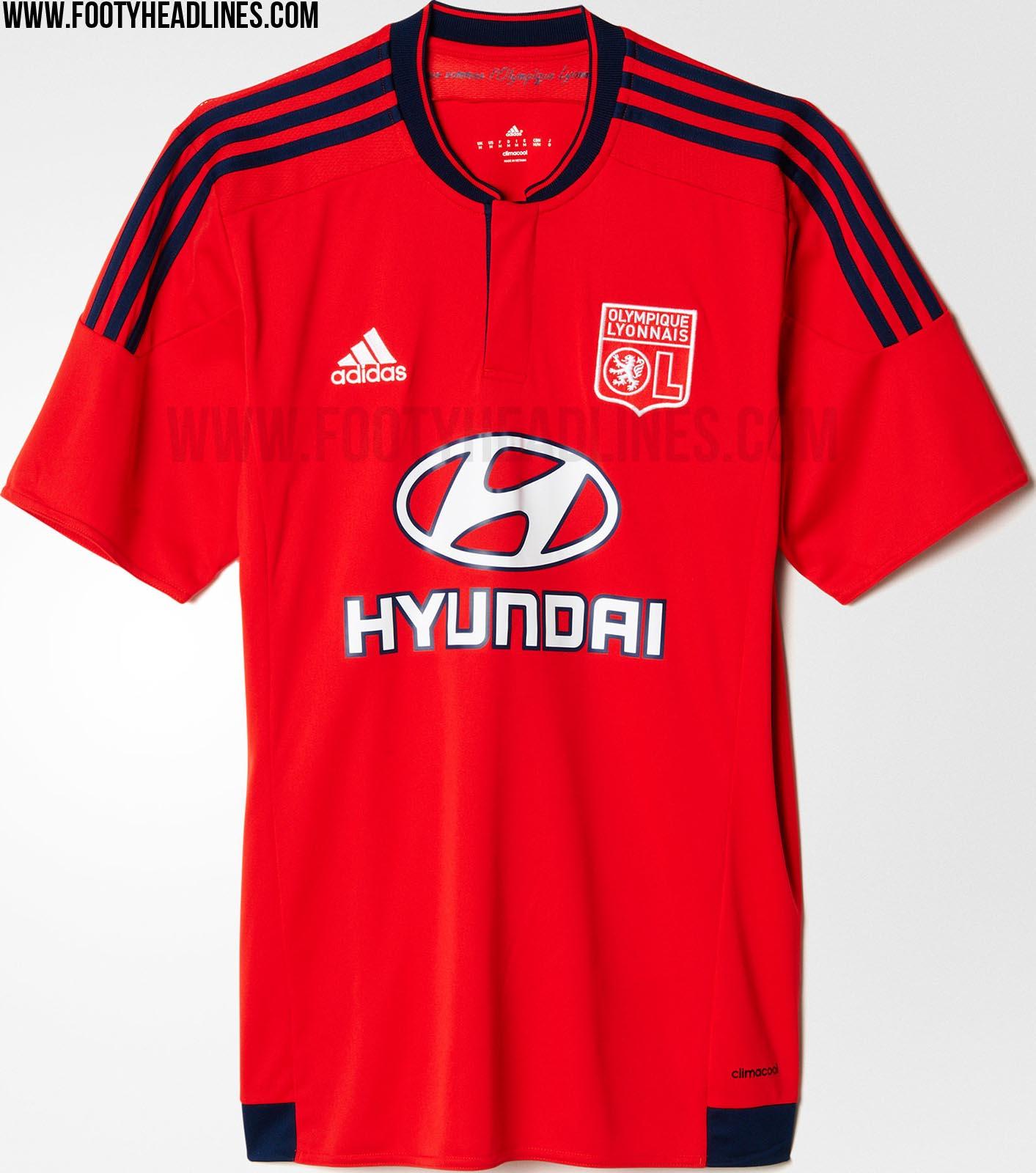d1e601da8d9 LEAKED: Olympique Lyon 19-20 Home, Away & Third Kit Colors & Info ...