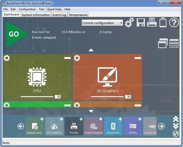 PassMark BurnInTest Pro 9.0 Build 1003