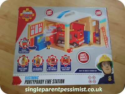 Fireman Sam Electronic Pontypandy Fire Station Toy Review