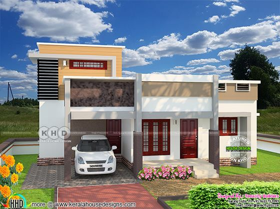 1325 sq-ft house with floor plan