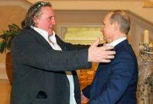 Depardieu und Putin tausche Abenteuergeschichten aus