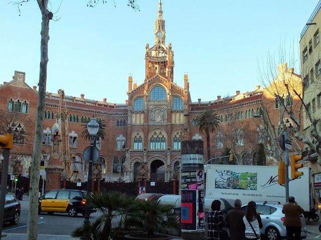 monumentos de Gaudí en Barcelona