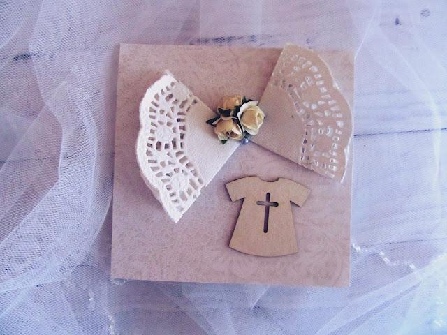 Kartki DIY na Chrzest Święty