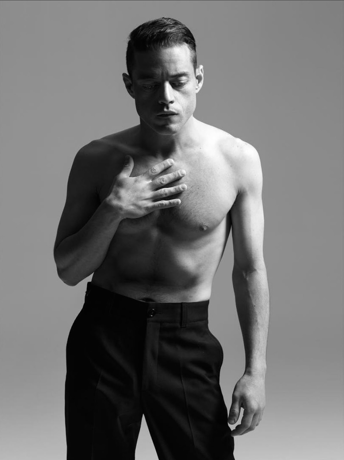 my new plaid pants: Rami Malek One Time