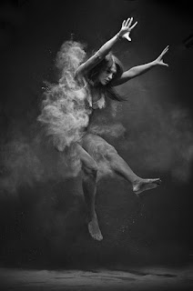 Chalk Dust on Toned Bodies Photographs by Anton Surkov