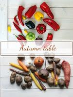 Трапеза, цветна като есента