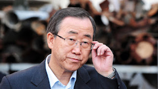 Former UN chief Ban Ki-Moon is currently South Korea's foreign minister (Photo Credit: Deposit Photos) Click to Enlarge.