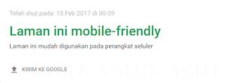 Cara membuat blog supaya menjadi seo mobile friendly