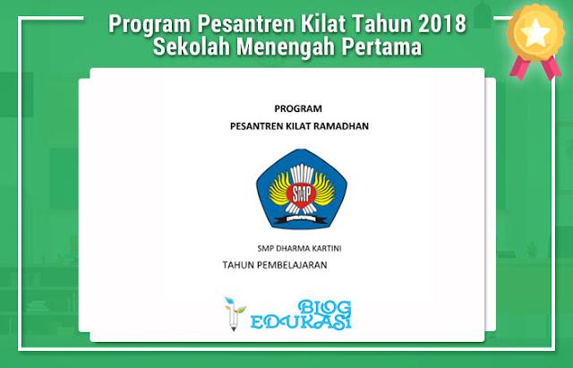 Program Pesantren Kilat Tahun 2018 Sekolah Menengah Pertama