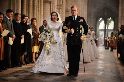Claire Foy and Jared Harris in The Crown (07)