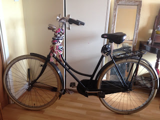 Stolen Bicycle - Old Vintage Amsterdam Postman Bike