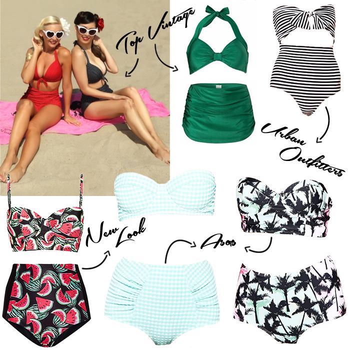 5c0f8f623639f High waisted 50s retro vintage bikini s trend where to buy