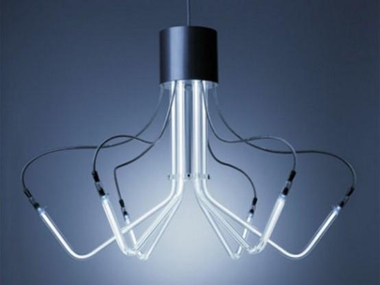 luce t5 di archxx semplice elegante e moderno questo lampadario ...