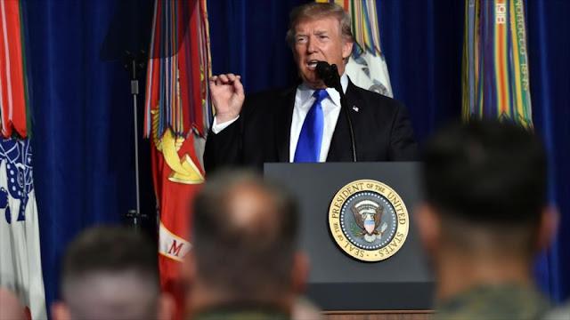 Trump anuncia aumento de tropas de EEUU en Afganistán