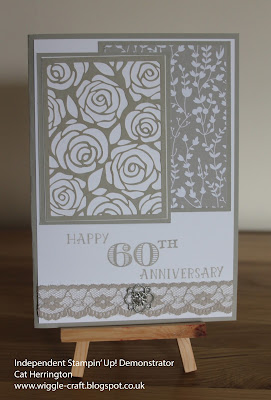 Stampin' Up! 60th Wedding Anniversary