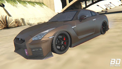 Download mod super carro esportivo Japonês Nissan GT-R R35 NISMO 2018 para o jogo GTA San Andreas PC , GAME