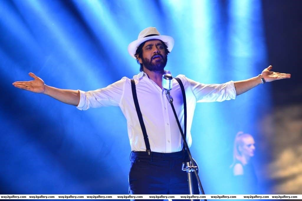 Nagarjuna has crooned a song Kotha kotha bhasha for his upcoming Telugu film Nirmala Convent