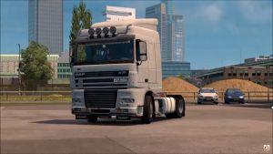 DAF XF 95 truck