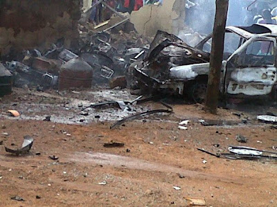 KADUNA+BLAST+4 Photos From Kaduna Bomb Blast and Killings Plus Christian and Muslim clash.