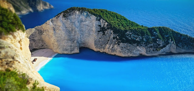 Blue Vacation Water Navagio Beach HD Wallpaper