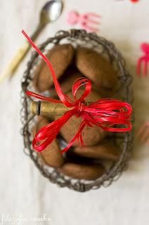 (Kakaowe ciasteczka z czekośliwką