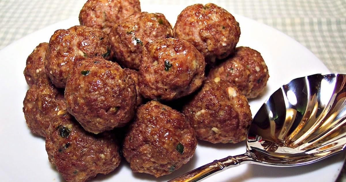 Old Fashioned Meatball Recipe