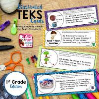 https://www.teacherspayteachers.com/Product/First-Grade-TEKS-Illustrated-and-Organized-733148