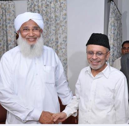 kanthapuram ap.usthad with haidarali thangal | islamic ...
