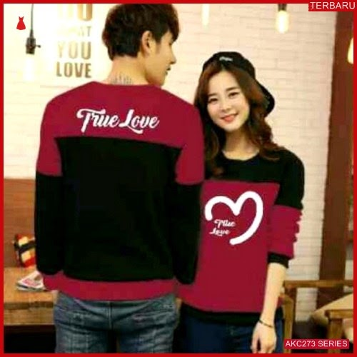 AKC273S35 Sweater Couple True Anak 273S35 Pasangan Love BMGShop