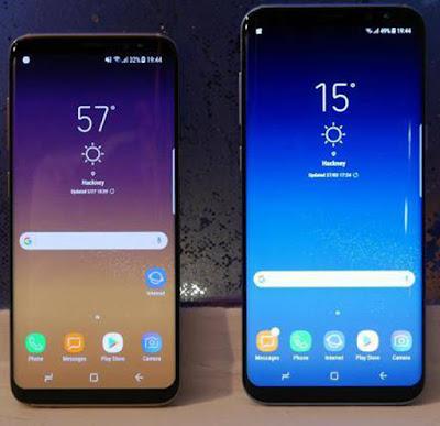 Spesifikasi Samsung Galaxy S9           Dalam segi layar, smartphone ini mempunyai lebar 5.8 inci dengan Layar QHD dan Super AMOLED. Untuk varian plus memiliki lebar layar yang berbeda yaitu 6.2 inci dengan jenis layar yang sama. Untuk bagian kamera belakang akan di berikan fitur variable apertures f/2.4 dan whopping f/1.5 yang pertama kali ada di smartphone. Dengan begitu Samsung Galaxy S9 dan S9+ akan memberikan hasil foto yang lebih baik walaupun dalam kondisi kurang cahaya. Masih belum berhenti, Kamera pada duo galaxy tersebut juga mampu memotret video gerak super lambat sebesar 480 fps pada 720p, menarik sekali bukan.         Samsung Galaxy S9 bakal menjadi komoditi panas pada tahun 2018 mendatang. Seri lanjutan dari Samsung Galaxy S8 dan S8+, Samsung Galaxy S9 ini mengusung bezel yang super tipis dibanding seri sebelumnya. Dengan ratio layar berbanding bodi mencapai 90 persen pada Samsung Galaxy S9, sedangkan pada Samsung Galaxy S8 hanya 83,6 persen saja.     berdasarkan rumor yang beredar, Samsung Galaxy S9 bakal memiliki bezel yang lebih tipis pada bagian atas display. Sedangkan untuk lebar pada bagian kanan dan kiri bodi Samsung Galaxy S9 belum diketahui pasti berapa perubahan bingkainya.Samsung