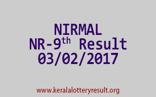 NIRMAL NR 9 Lottery Results 03-02-2017