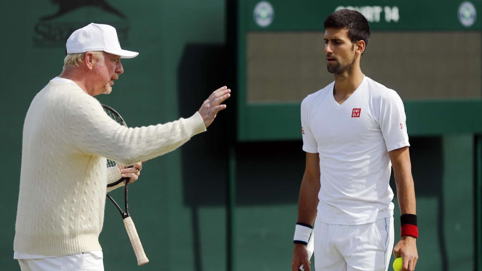 NOVAK DJOKOVIC, BORIS BECKER 5