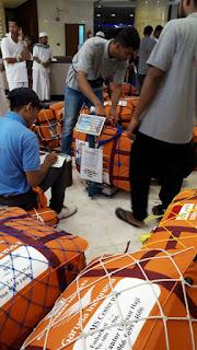 Jamaah Haji Kotabaru Sudah Berkemas Barang Untuk Pulang