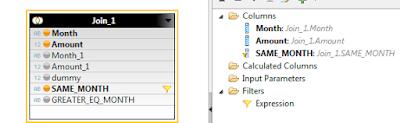 Cumulative Sum / Running Total in HANA Calculation View