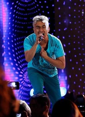 Foto de Jorge Gonzalez en el escenario