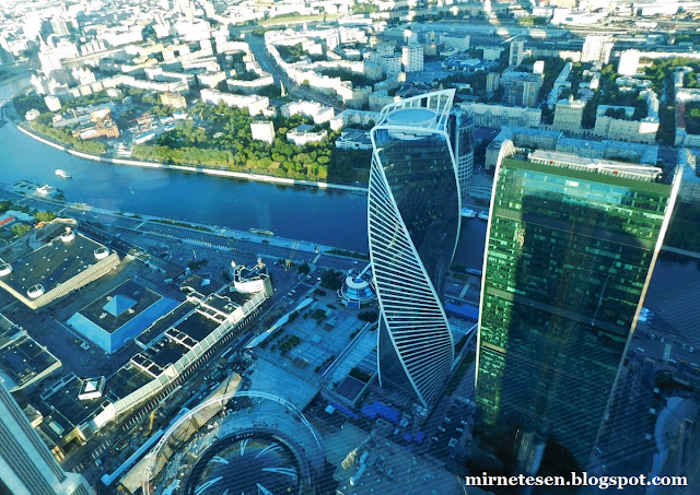 Смотровая площадка Панорама 360 - Москва-Сити