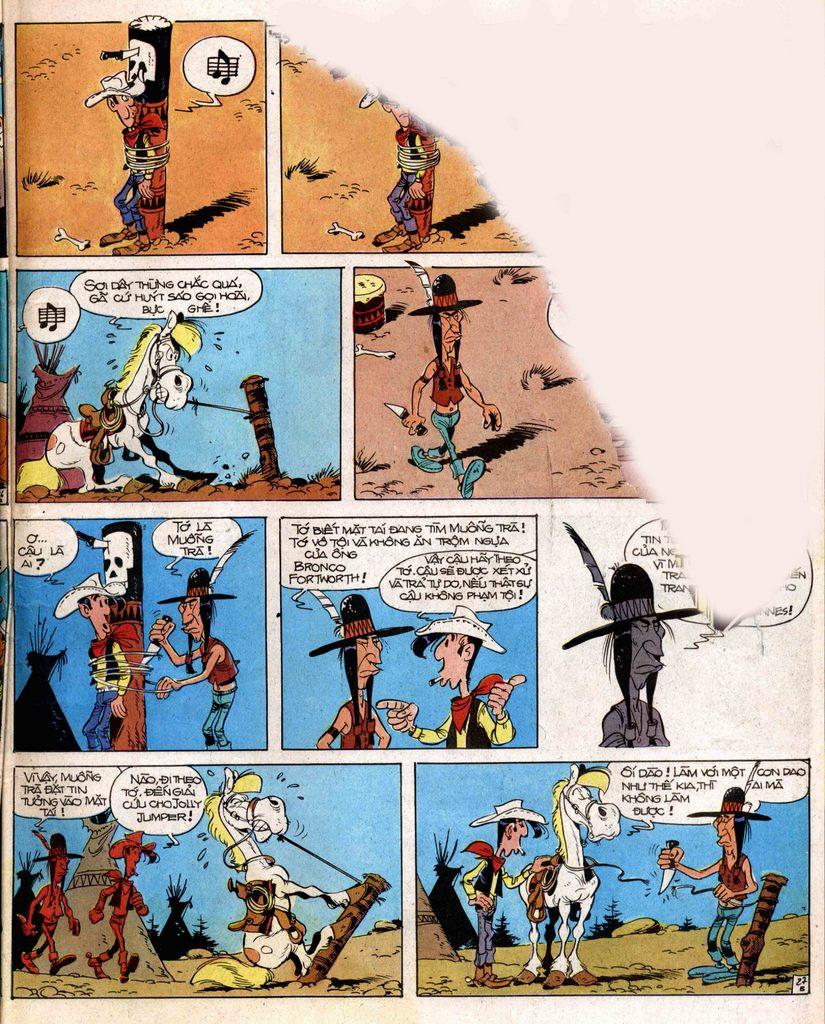 Lucky Luke tap 2 - ke san tien thuong trang 27