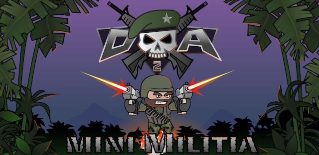 Doodle Army 2 : Mini Militia v4.2.7 Apk Mod [Unlocked Pro]