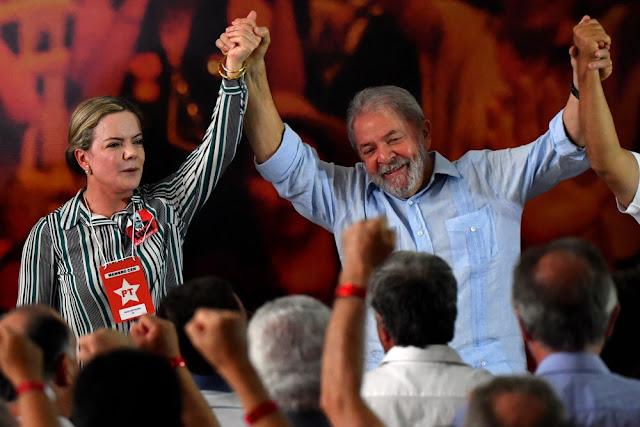 Um dia depois da condenação, PT lança pré-candidatura de Lula à Presidência