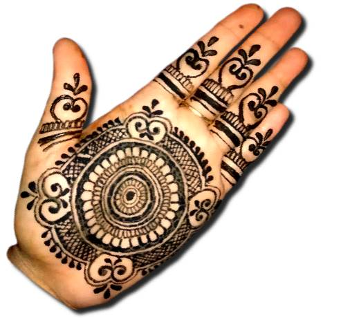 Mandala Mehndi Designs for Front Hand
